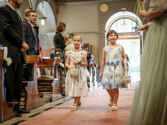 Il matrimonio di Fabio e Mary a Rovello Porro, Como 26