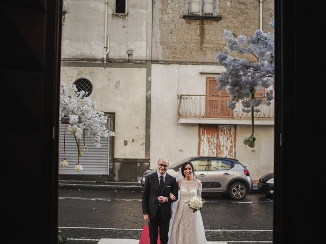 Il matrimonio di Clelia e Mauro a Pomigliano d'Arco, Napoli 27