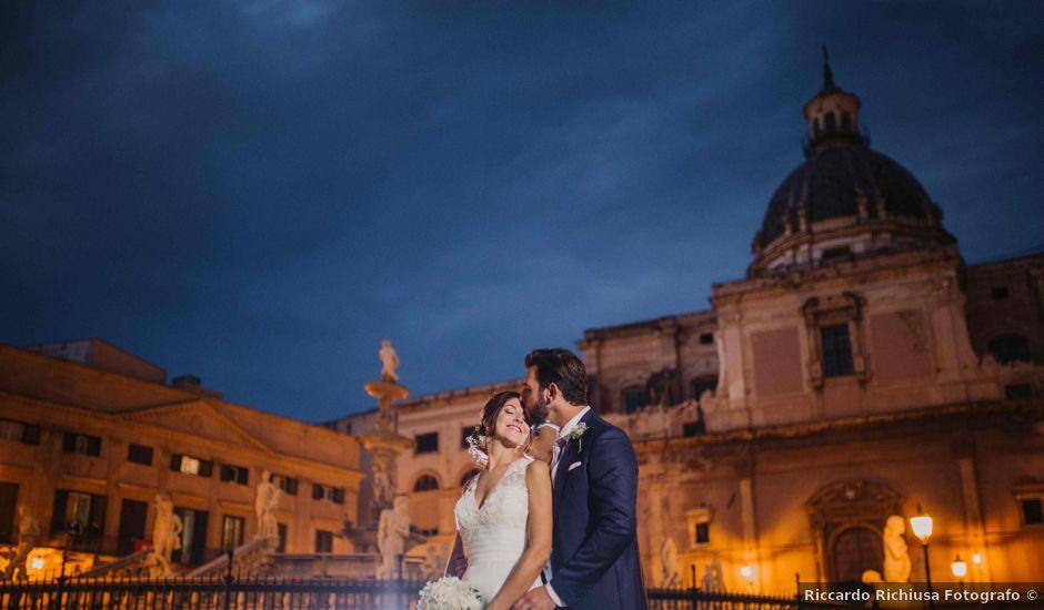 Il matrimonio di Vincenzo e Valentina a Palermo, Palermo