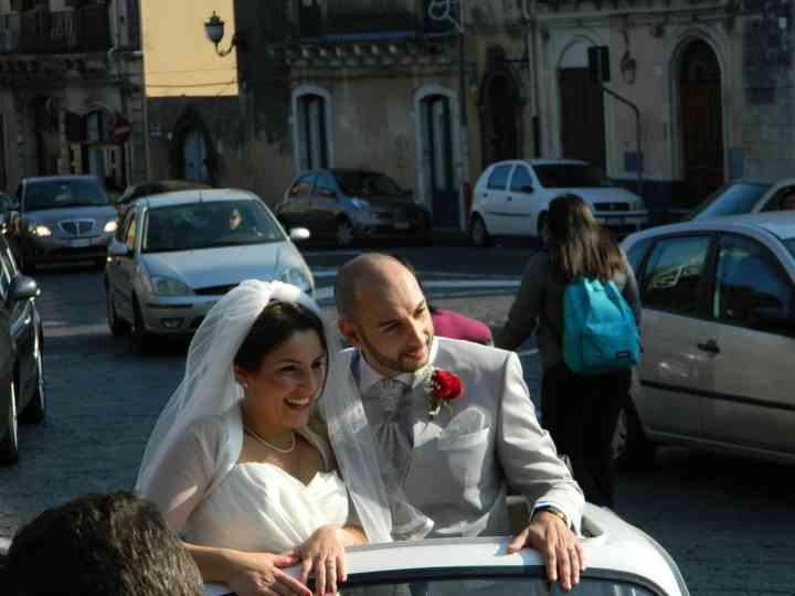 le nozze di Luana e Diego