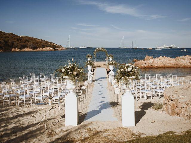 Il matrimonio di Mirco e Domitilla a Porto Cervo, Sassari 39