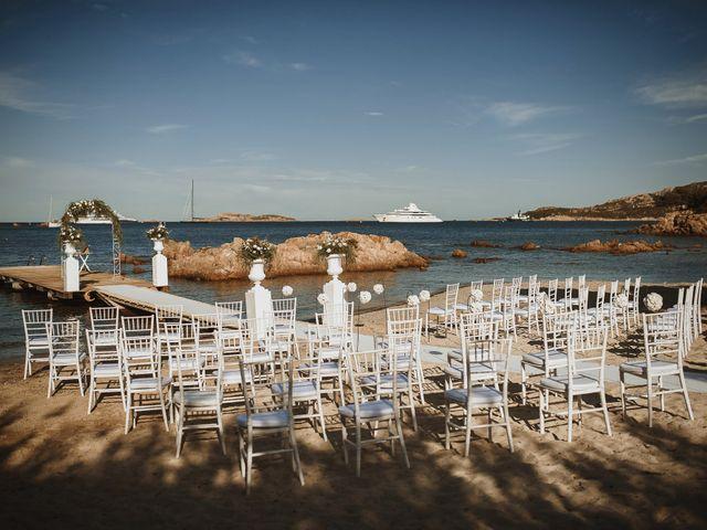 Il matrimonio di Mirco e Domitilla a Porto Cervo, Sassari 44