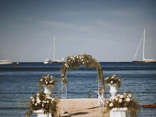 Il matrimonio di Mirco e Domitilla a Porto Cervo, Sassari 45