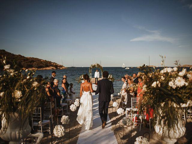 Il matrimonio di Mirco e Domitilla a Porto Cervo, Sassari 51
