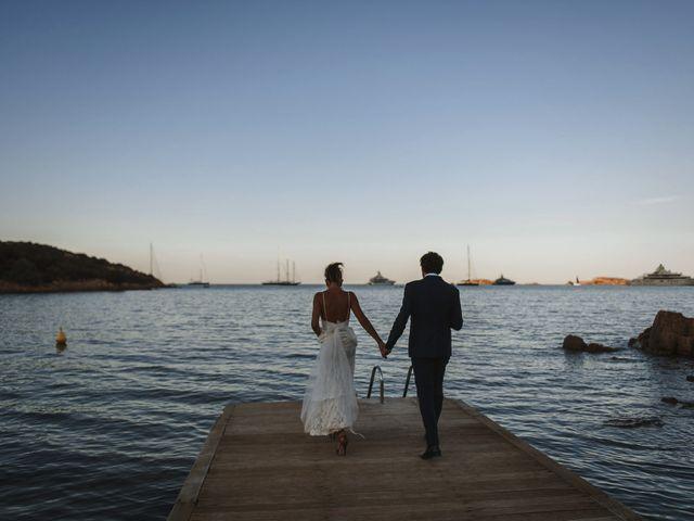 Il matrimonio di Mirco e Domitilla a Porto Cervo, Sassari 75