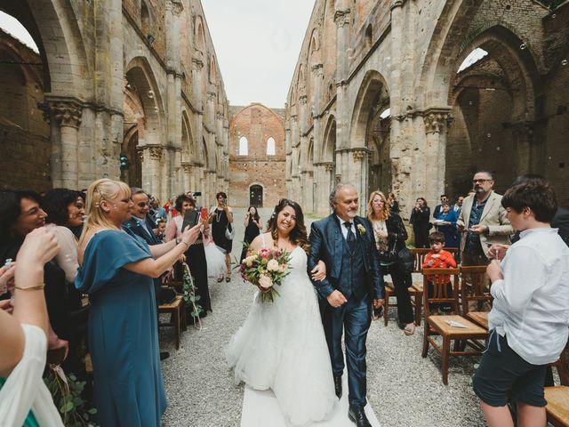 Il matrimonio di Iacopo e Giulia a Chiusdino, Siena 28