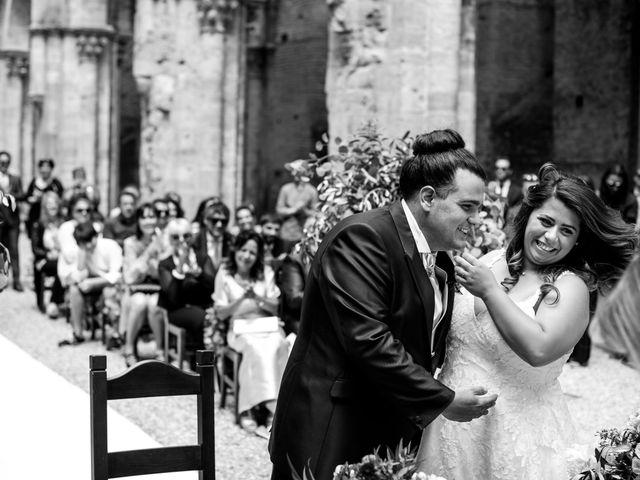Il matrimonio di Iacopo e Giulia a Chiusdino, Siena 39