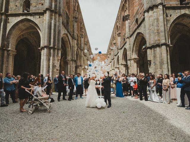 Il matrimonio di Iacopo e Giulia a Chiusdino, Siena 45