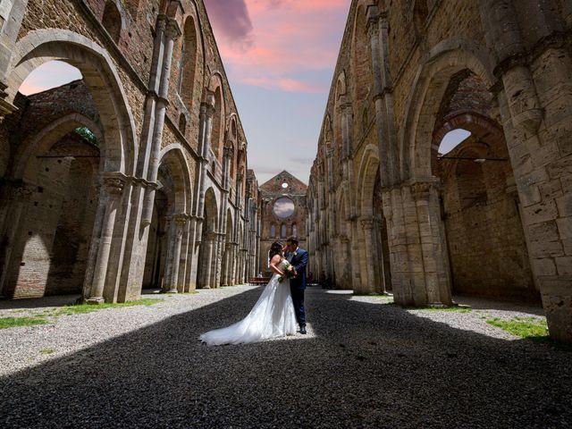 Il matrimonio di Iacopo e Giulia a Chiusdino, Siena 56