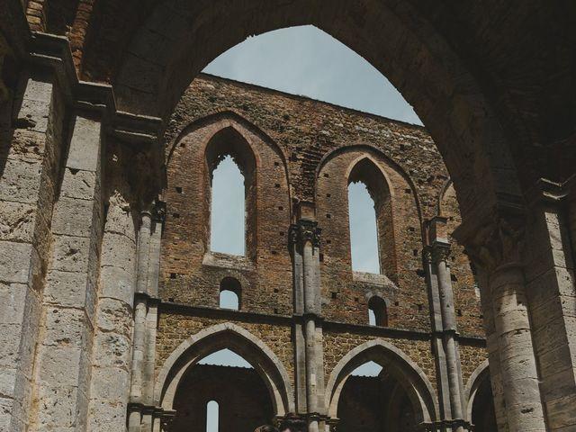 Il matrimonio di Iacopo e Giulia a Chiusdino, Siena 58