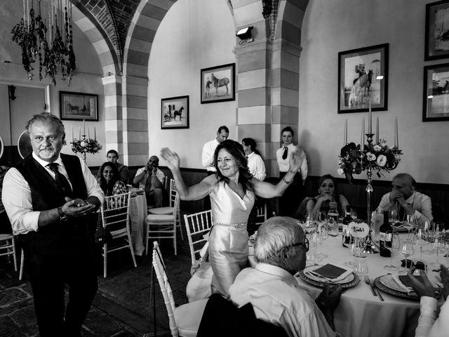 Il matrimonio di Iacopo e Giulia a Chiusdino, Siena 75