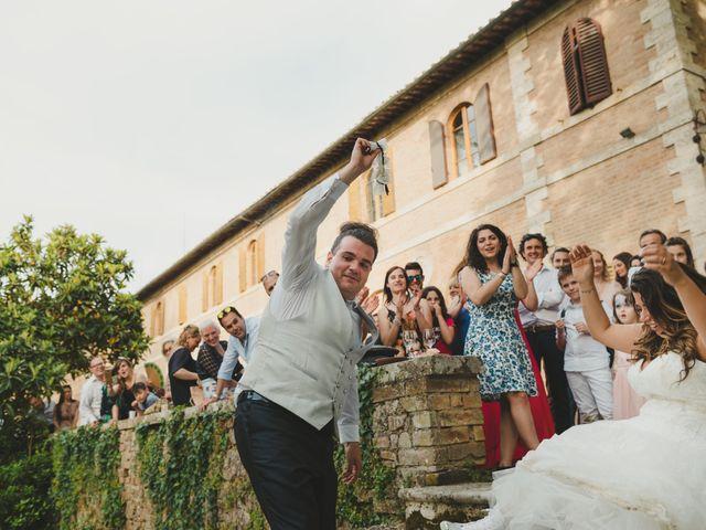 Il matrimonio di Iacopo e Giulia a Chiusdino, Siena 100