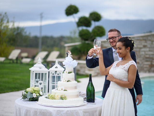Il matrimonio di Vanessa e Leonardo a Acquasparta, Terni 23
