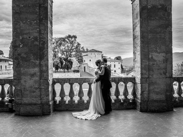Il matrimonio di Vanessa e Leonardo a Acquasparta, Terni 37