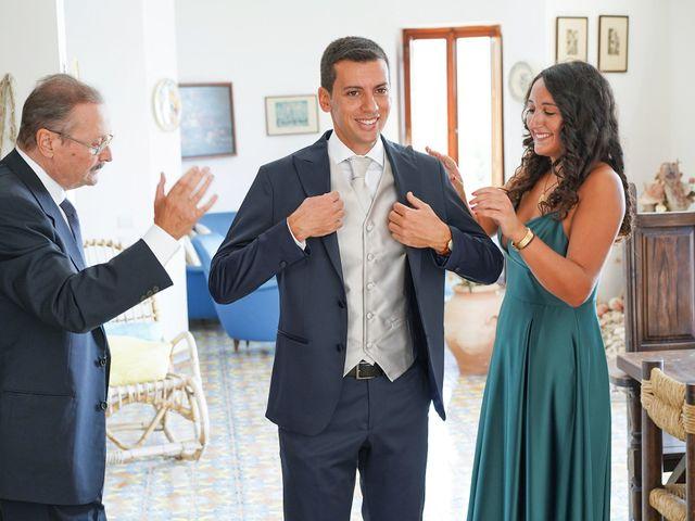 Il matrimonio di Federica e Dario a Sorrento, Napoli 8