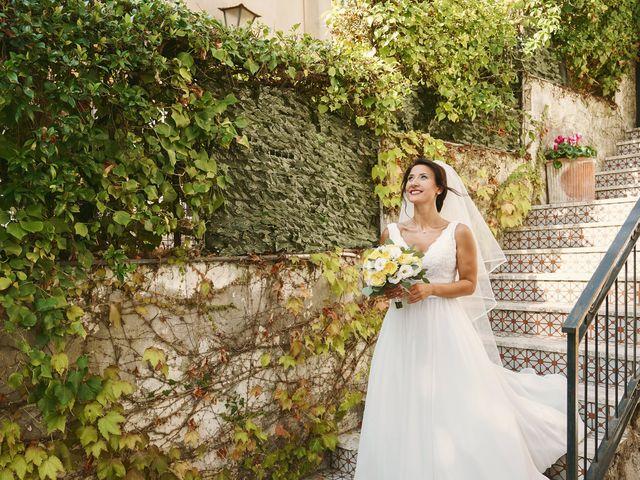 Il matrimonio di Federica e Dario a Sorrento, Napoli 32