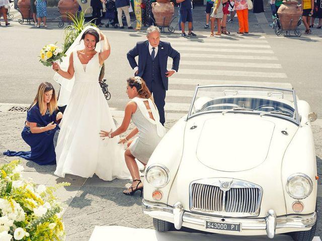 Il matrimonio di Federica e Dario a Sorrento, Napoli 42