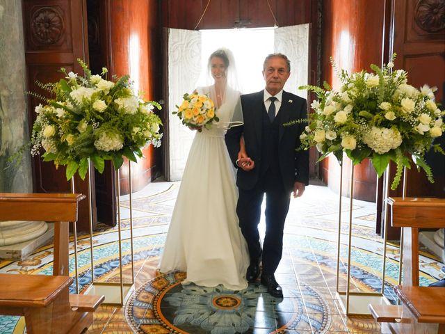 Il matrimonio di Federica e Dario a Sorrento, Napoli 43