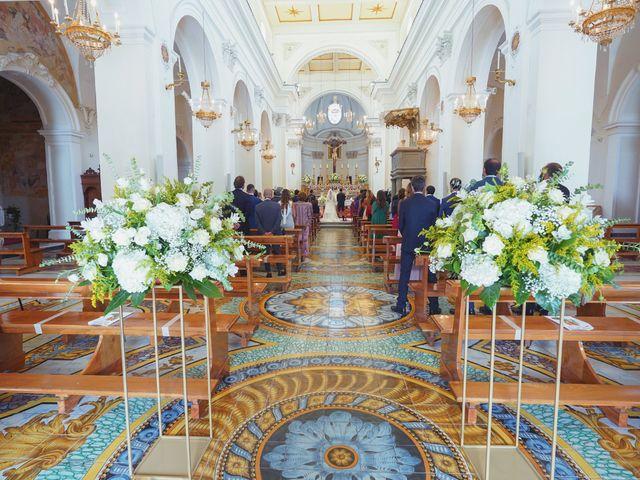 Il matrimonio di Federica e Dario a Sorrento, Napoli 45