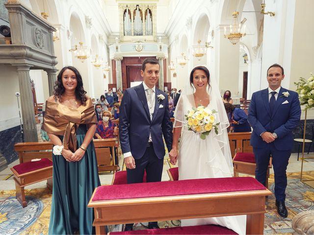 Il matrimonio di Federica e Dario a Sorrento, Napoli 46