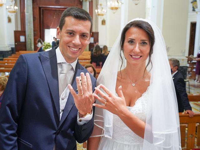 Il matrimonio di Federica e Dario a Sorrento, Napoli 49