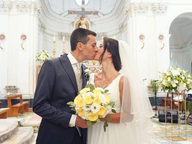 Il matrimonio di Federica e Dario a Sorrento, Napoli 50