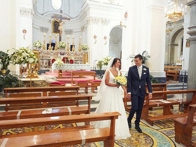 Il matrimonio di Federica e Dario a Sorrento, Napoli 51