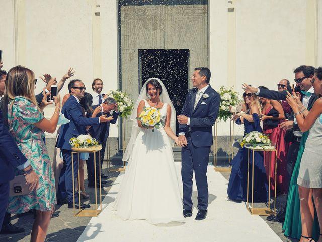 Il matrimonio di Federica e Dario a Sorrento, Napoli 53