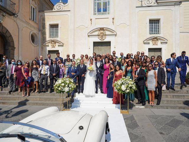 Il matrimonio di Federica e Dario a Sorrento, Napoli 54