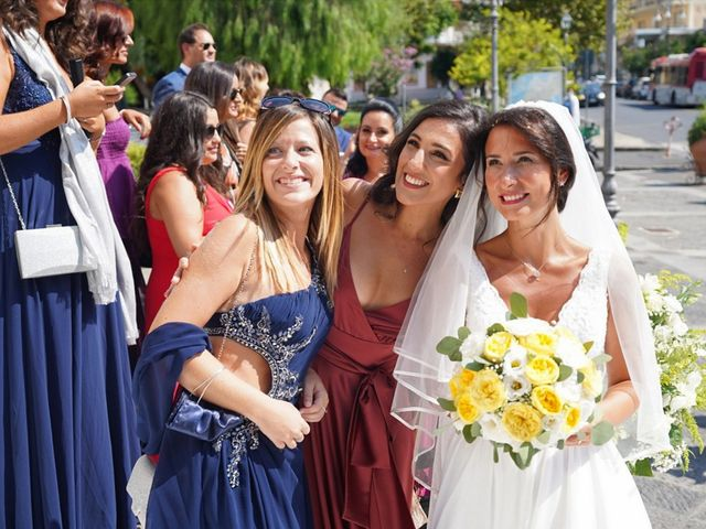 Il matrimonio di Federica e Dario a Sorrento, Napoli 56