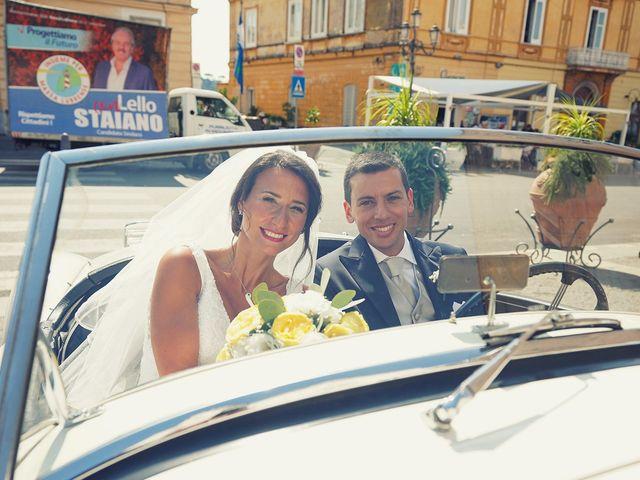 Il matrimonio di Federica e Dario a Sorrento, Napoli 58