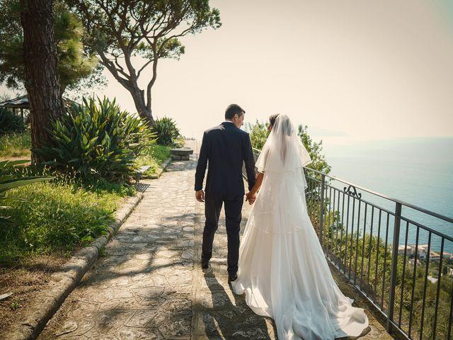Il matrimonio di Federica e Dario a Sorrento, Napoli 60