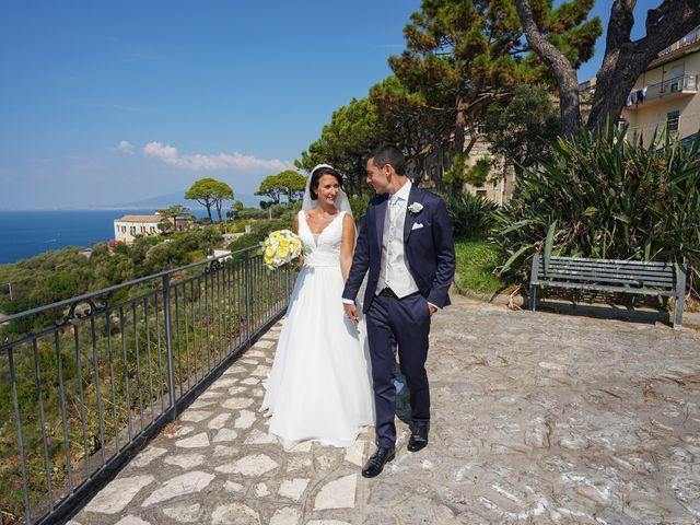 Il matrimonio di Federica e Dario a Sorrento, Napoli 62