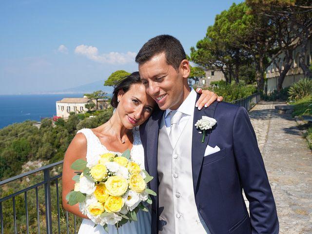 Il matrimonio di Federica e Dario a Sorrento, Napoli 63