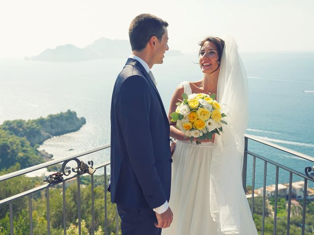 Il matrimonio di Federica e Dario a Sorrento, Napoli 65