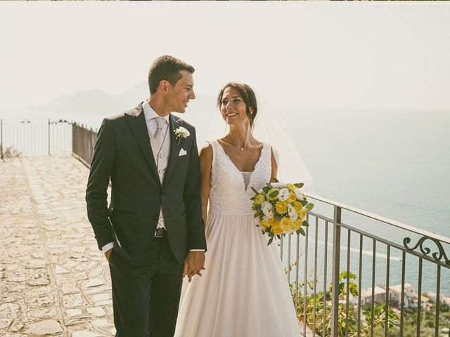 Il matrimonio di Federica e Dario a Sorrento, Napoli 67