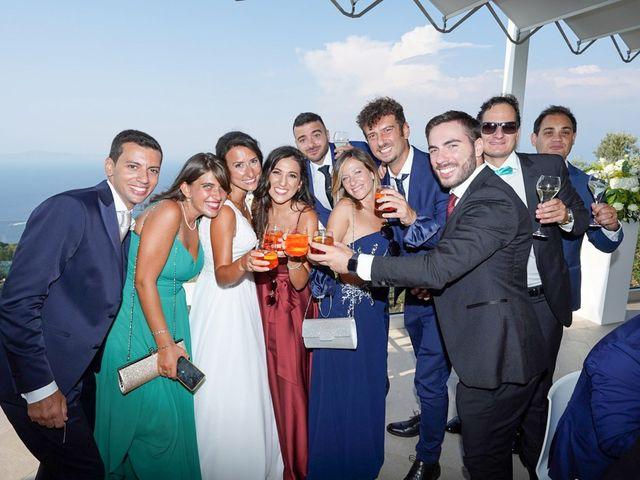 Il matrimonio di Federica e Dario a Sorrento, Napoli 80