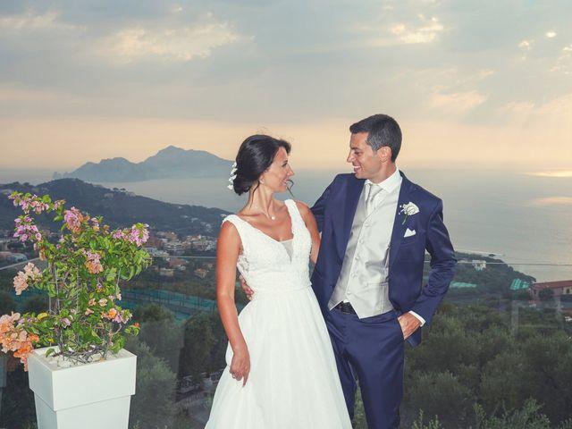 Il matrimonio di Federica e Dario a Sorrento, Napoli 84