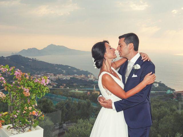 Il matrimonio di Federica e Dario a Sorrento, Napoli 1