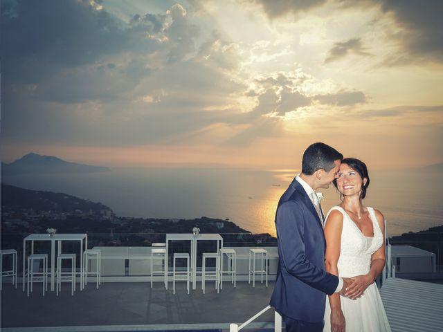 Il matrimonio di Federica e Dario a Sorrento, Napoli 85