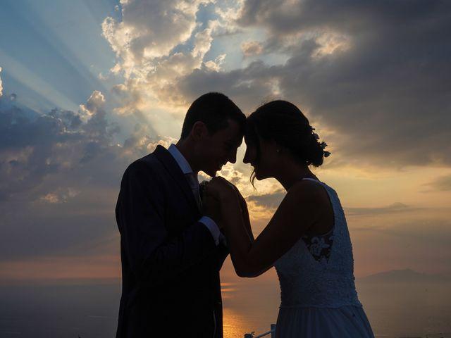 Il matrimonio di Federica e Dario a Sorrento, Napoli 87