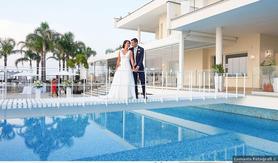 Il matrimonio di Federica e Dario a Sorrento, Napoli