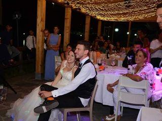 Le nozze di Kim e Christopher