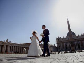 Le nozze di Paola Maria e Christian