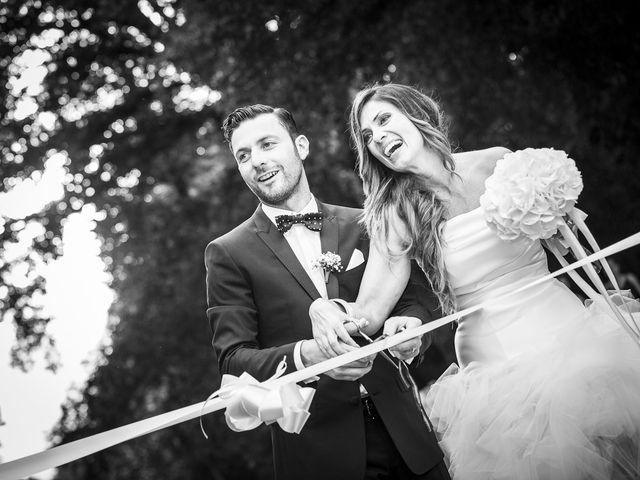 le nozze di Patrizia e Enzo