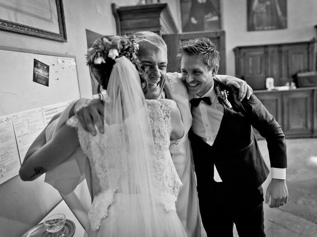 Il matrimonio di Filippo e Maddalena a Cazzago San Martino, Brescia 162