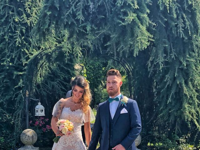 Il matrimonio di Marco  e Jessica  a Ternate, Varese 9
