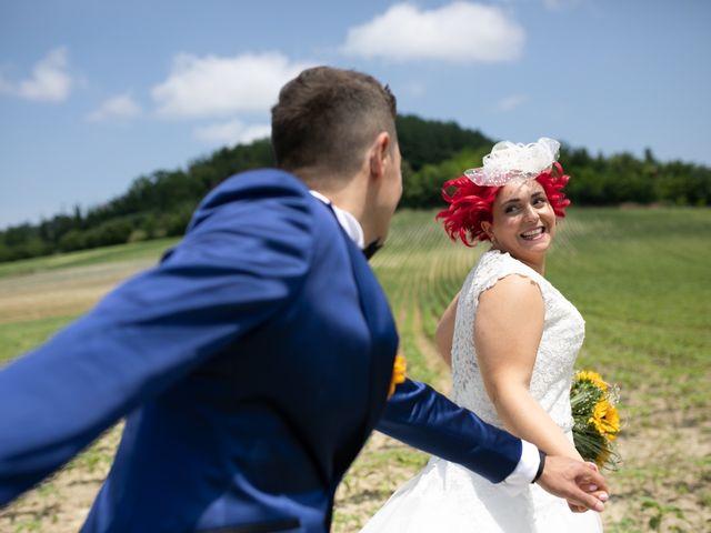 Le nozze di Vanessa e Claudio
