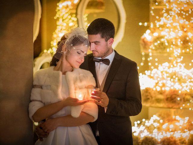 le nozze di Lorena e Marco