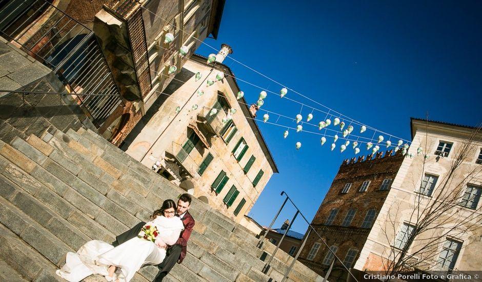 Il matrimonio di Emanuele e Sara a Mondovì, Cuneo